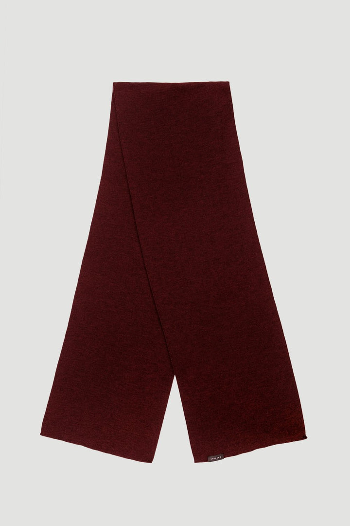 Rotholz - Basic Merino Scarf Wine Red