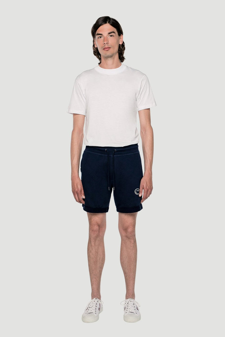 Rotholz - 'Smiley' shorts navy