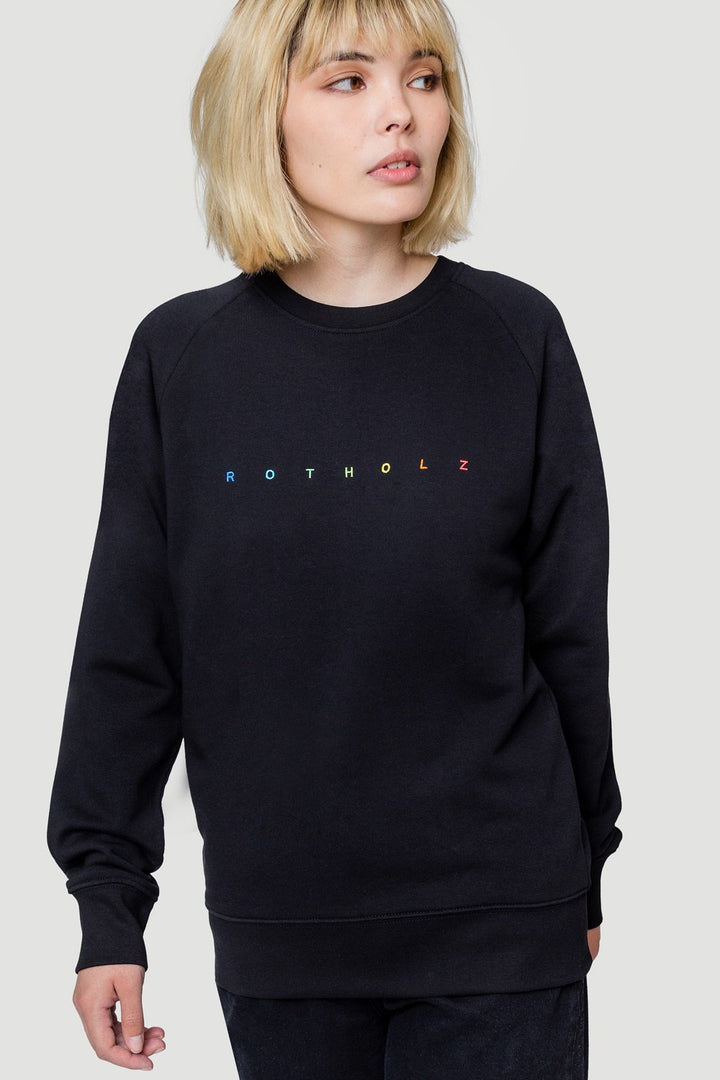 Rotholz - 'Spacing' Sweatshirt Black