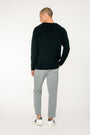 - 'Basic' merino knit sweater black, image no.4