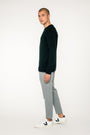 - 'Basic' merino knit sweater black, image no.3