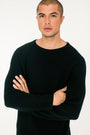 - 'Basic' merino knit sweater black, image no.1