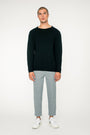 - 'Basic' merino knit sweater black, image no.2
