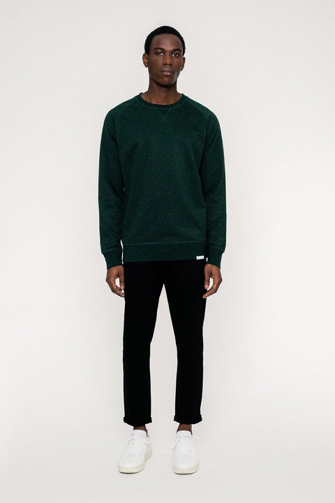 Basic Sweater Green Mel