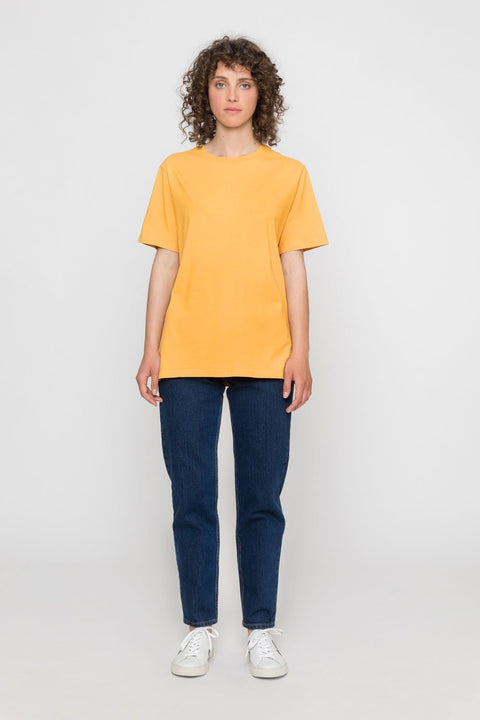 'Rights' Organic T-Shirt Mustard Yellow