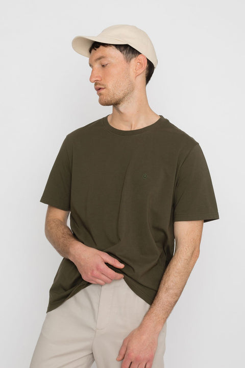 'Rights' Organic T-Shirt Olive