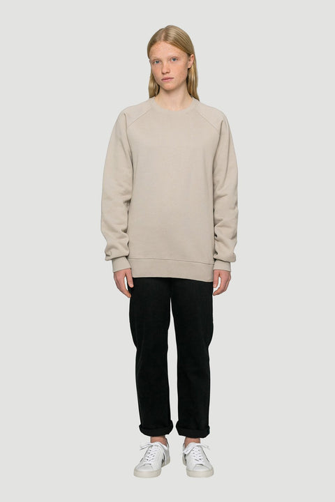 Rights Organic Sweater Sand Grey W