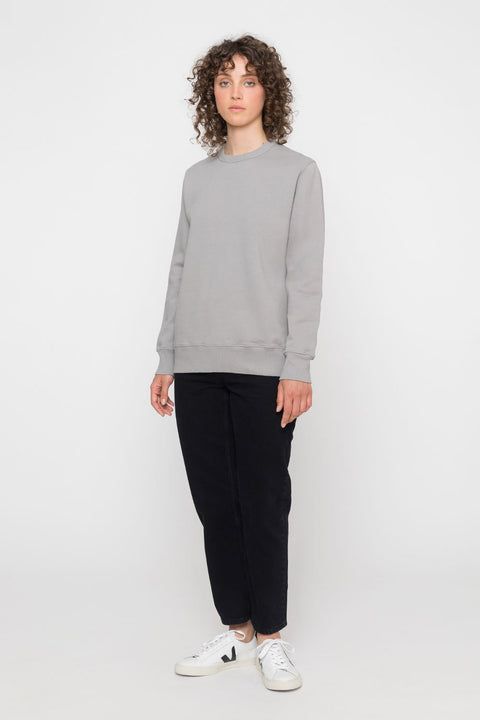 'Rights' Organic Sweatshirt Grey