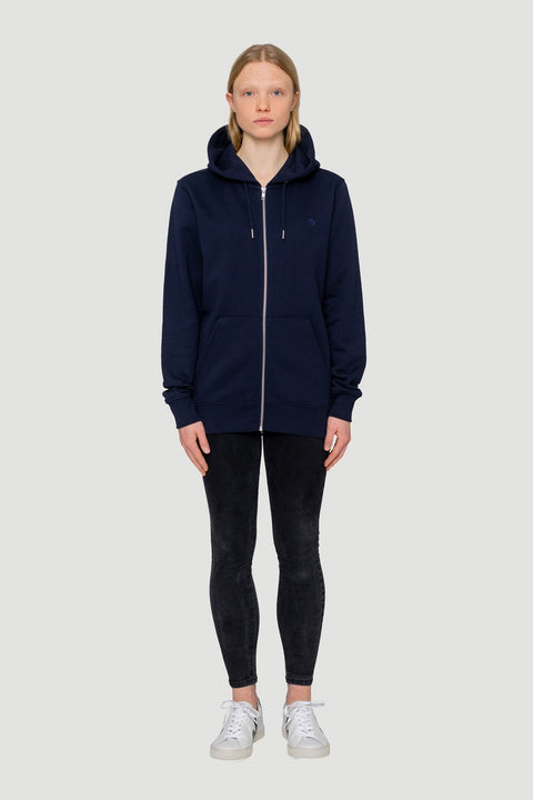 'Rights' Bio Zipper Navy