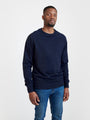 PURE WASTE - Pure Waste Sweatshirt Solid Navy, image no.2