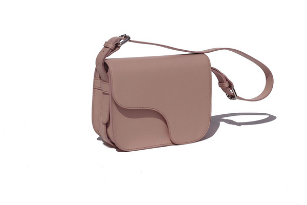 The Camille in Blush Nappa Leather