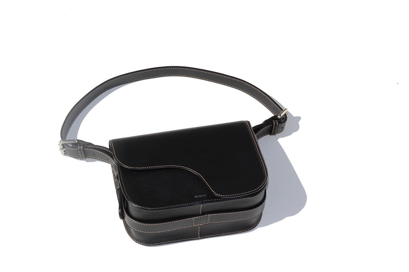 The Camille in Black Nappa Leather