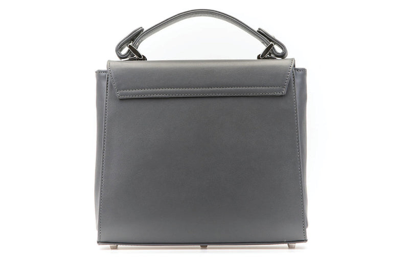 The Aster in Slate Nappa Leather