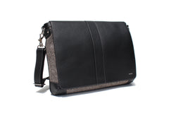 The Cuthbert in Black Leather and Tweed