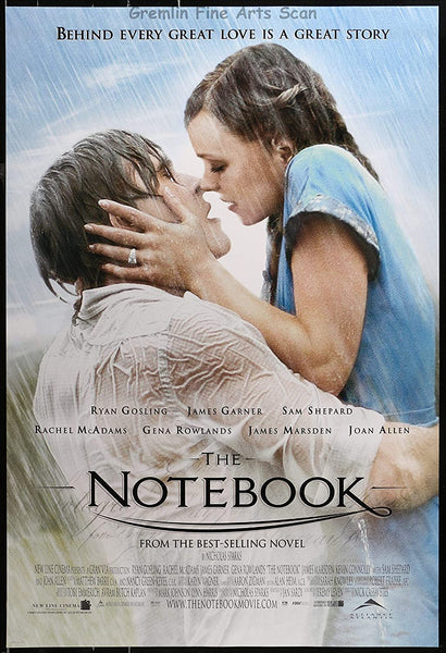 The Notebook valentine's day movie