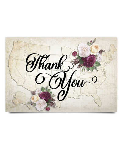 Thank you Poster - Christmas Gift For Couples