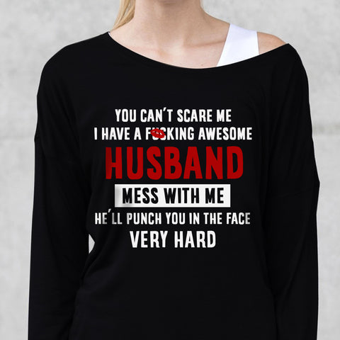You Can't Scare Me Valentines Gift for Wife - Christmas Gift For Couples