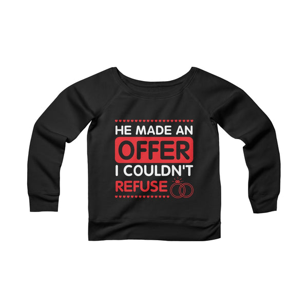 Offer I Couldn't Refuse Off-shoulder Sweatshirt - Christmas Gift For Couples