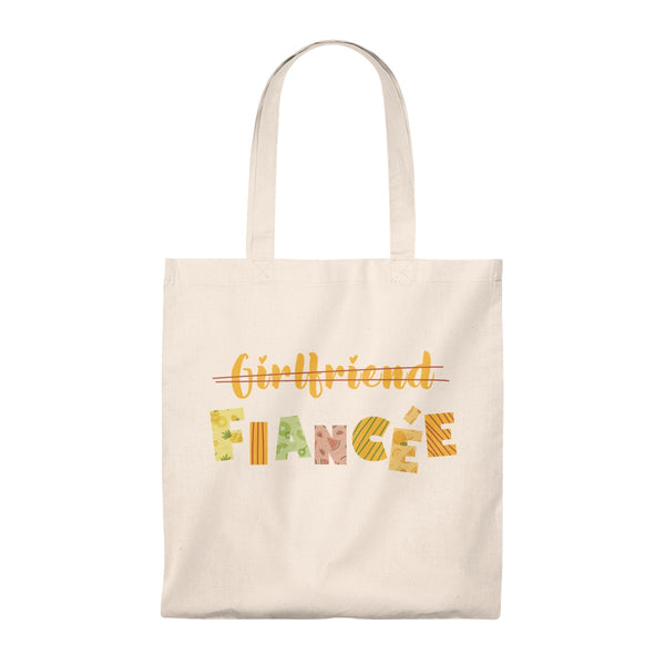 Creative Gift Ideas For Fiancée - Tote Bag Girlfriend Fiancee - Magic Proposal