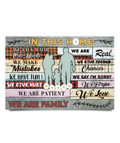 Gifts Idea For Parents - We Are Family Poster - Magic Proposal