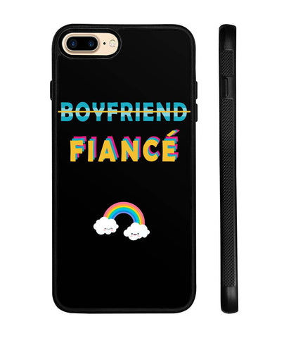 Boyfriend Fiance Couples Phone Case - Magic Proposal