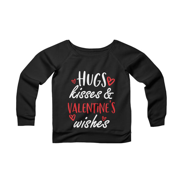 Hug Kiss Off-shoulder Sweatshirt - Magic Proposal