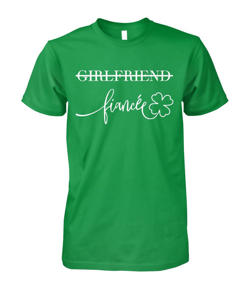 Girlfriend Fiancée Shirt - Christmas Gift For Couples