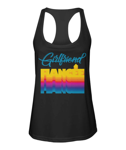 Fiancee Female Creative Gift Ideas For Her - Rainbow Tank Top - Christmas Gift For Couples