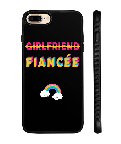Girlfriend Fiancee Couples Phone Case - Christmas Gift For Couples