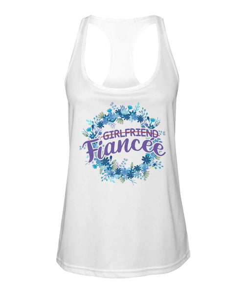 Fiancee Female Creative Gift Ideas For Her - Wreath Tank Top - Christmas Gift For Couples