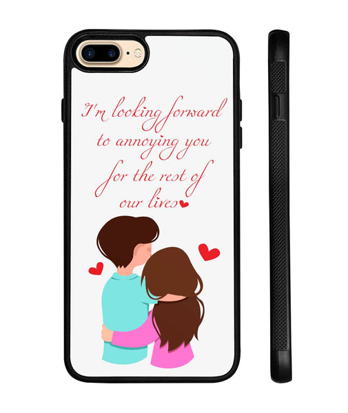 Lovely Couples iPhone Case - Christmas Gift For Couples