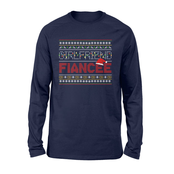 Best Christmas Gift Ideas For Fiancée Female - Long Sleeve T-shirt - Christmas Gift For Couples