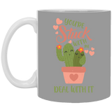 Valentines Couples Cactus Mugs For Fiance And Fiancee - Magic Proposal