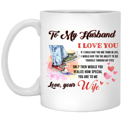 To My Husband Mug - Magic Proposal