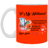 To My Husband Mug - Christmas Gift For Couples