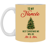 Next Christmas Will Be Mr Ms - Meaningful For Fiancee - Valentine's Day Gift