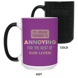 Funny Couples Mug For Fiance And Fiancee - Magic Proposal