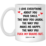 Fuck My Brains Out - Funny Valentines Surprise For Him
