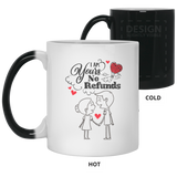 Lovely Couples Mug For Fiance and Fiancee - Valentine's Day Gift