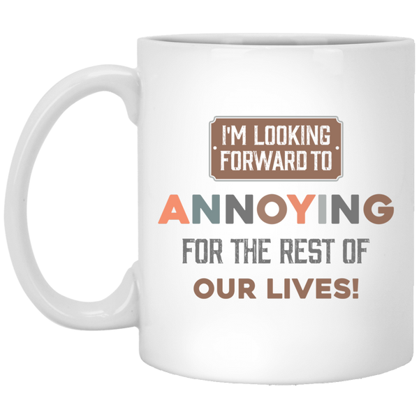 Funny Couples Mug For Fiance And Fiancee - Christmas Gift For Couples