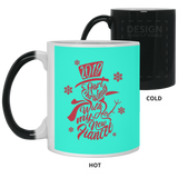 Best Christmas Gifts For Fiancee Female 2019 - Snowflakes Mug - Christmas Gift For Couples