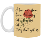 Couples Mug For Fiance And Fiancee Our Story - Christmas Gift For Couples
