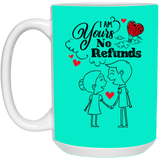 Lovely Couples Mug For Fiance and Fiancee - Magic Proposal