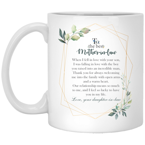 Elegant Design Mug for Mother-in-law - Magic Proposal