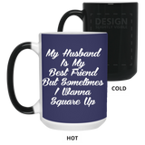 Funny Mug My Husband Is My Bestfriend - Christmas Gift For Couples