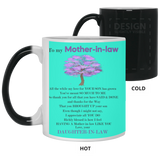 To My Mother In Law Mug - Christmas Gift For Couples