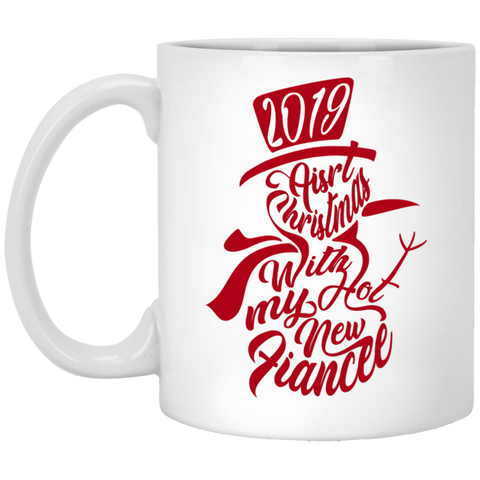 Best Christmas Gifts For Fiancee Female 2019 - Non Snowflakes Mug - Valentine's Day Gift