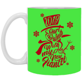 Best Christmas Gifts For Fiancee Female 2019 - Snowflakes Mug - Magic Proposal