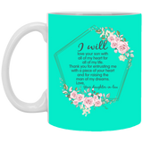 Thank You Mother In Law Flower Mug - Magic Proposal