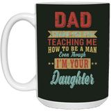 Thank You Dad Mug - From Daughter - Christmas Gift For Couples